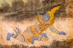 Fight (2) (Cédric Fumière) Tags: mural colors paints khmer history phnompenh cambodia kh