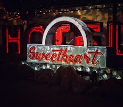 Sweetheart (podolux) Tags: 2019 april2019 sony sonya7 a7 sonyilce7 ilce7 neonmuseum neonboneyard sweetheart lasvegas nevada nv sign signs clarkcounty oneword onewordsweetheart