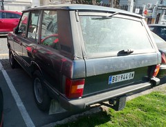 1985 Range Rover Classic (FromKG) Tags: rangerover classic grey car suv belgrade serbia 2019