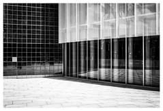 Torre Mapfre 2 (Dave Button) Tags: barcelona spain architecture buildings fuj fujifilm xe2s xe2 mono monochrome bnw bw blackwhite greyscale grayscale catalunya catalonia travel