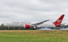 virgin atlantic b787-9 dreamliner g-vdia landing at shannon from heathrow for maintenance with lufthansa technik 14/4/19. (FQ350BB (brian buckley)) Tags: virginatlantic b7879 dreamliner gvdia einn lufthansatechnik maintenance