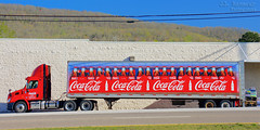 Coca-Cola truck (J.L. Ramsaur Photography) Tags: jlrphotography nikond7200 nikon d7200 photography photo harrimantn easttennessee roanecounty tennessee 2018 engineerswithcameras cocacolatruck photographyforgod thesouth southernphotography screamofthephotographer ibeauty jlramsaurphotography photograph pic harriman tennesseephotographer harrimantennessee tennesseehdr hdr worldhdr hdraddicted bracketed photomatix hdrphotomatix hdrvillage hdrworlds hdrimaging hdrrighthererightnow cocacola cokebottle cocacolabottle coke cocacolabottlingworks cocacolascript cocacolaslogans coketruck semi bigrig tractortrailer truck bigtruck