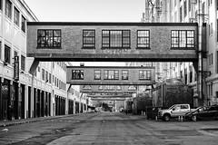 Five Skyways (trochford) Tags: skyway skybridge skywalk street building terminal perspective blackfalconterminal boston bostonma ma massachusetts newengland usa us unitedstates bw bnw blackandwhite blackwhite noiretblanc blancoynegro mono monochrome canon canon6d ef24105mmf4lisusm ef24105
