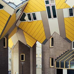 Piet Blom. Kubuswoning #10 (Ximo Michavila) Tags: pietblom kubuswoning rotterdam ximomichavila netherlands city urban abstract architecture archidose archdaily archiref building house cube geometry