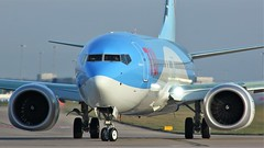 G-TUMB (AnDyMHoLdEn) Tags: thomson tui 737 max egcc airport manchester manchesterairport 23l