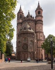 Der Dom zu Worms (Teelicht) Tags: architektur deutschland dom germany kirche rheinhessen rheinlandpfalz worms architecture cathedral church