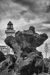 Punta Spadillo (laura sinapi) Tags: pantelleria isola island roccia rocks lighthouse faro puntaspadillo biancoenero bw blackwhite bn blackandwhite
