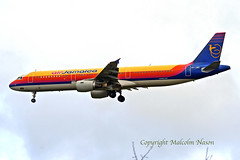 A321-211 6Y-JME AIR JAMAICA (shanairpic) Tags: jetairliner passengerjet a321 airbusa321 shannon msn775 airworld airjamaica turkuaz ilfc uralairlines