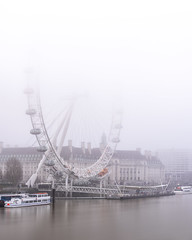Foggy Eye (JH Images.co.uk) Tags: london londoneye fog foggy river thames riverthames water hdr dri
