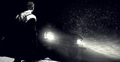 """Metal angel"" (L1netty) Tags: madmax avalanchestudios warnerbros pc game gaming pcgaming videogame reshade screenshot virtual digital 5k srwe character max man male people car light shadows blackandwhite monochrome bw indoor"