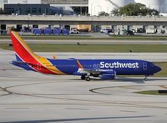 Southwest                                       Boeing 737 MAX                                      N8732S (Flame1958) Tags: southwest southwestairlines southwestb737 southwestb737max boeing737 boeing b737 737 boeingmax b737max 737max fll kfll flap flap2019 fortlauderdaleairport travel vacation flying flight florida n8732s 190219 0219 2019 0032