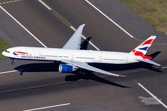 G-STBC BA B77W 34L YSSY-2188 (A u s s i e P o m m) Tags: britishairways sydney newsouthwales australia au ba speedbird boeing b77w b777300er syd yssy sydneyairport