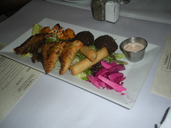 hot appetizer combo from Urfa Bistro (Danny / ixfd64) Tags: ixfd64 nikon coolpix food