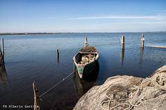 la barca è pronta - Lago di Lesina (albygent Alberto Gentile) Tags: lagodilesina lesinalake barca pescatore puglia canon6dmarkii