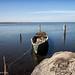 la barca è pronta - Lago di Lesina