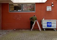 Graffitty (ClickU2) Tags: rotterdam ommoord binnenhof