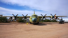 Lockheed 182 C-130A-45-LM Hercules 57-0457 in Tucson (J.Comstedt) Tags: aircraft flight aviation air aeroplane museum airplane us usa planes pima space tucson az johnny comstedt lockheed 182 c130 hercules usaf 570457