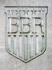 BBR Shield (edenpictures) Tags: newyorkcity nyc manhattan building architecture alphabetcity eastsixthstreet sign emblem shield