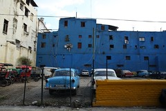 Havana.Cuba (VincenzoMonacoo) Tags: canon 6d tamron 2470 cuba havana street old car blu adventure travel leica nikon