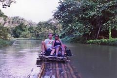 Rafting Harve & Tia (HarveNYC) Tags: jamaica 1992 raft