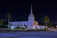 First Baptist Church of Clewiston, 102 E Ventura Avenue, Clewiston, Hendry County, Florida, USA / Built: 1989 (Photographer South Florida) Tags: clewiston city cityscape urban downtown skyline hendrycounty florida centralbusinessdistrict building architecture commercialproperty cosmopolitan metro metropolitan smallcity sunshinestate realestate lakeokeechobee lakeokeechobeescenictrail atlanticcoastalplain historical southbank street clewistoninn 108royalpalmavenue usa 1938 classicalrevival addednrhp1991 historicsite
