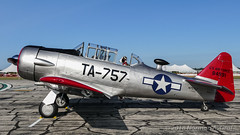North American AT-6D Texan (Norman Graf) Tags: northamerican n757lf at6 aircraft airshow 2017thunderovermichigan airplane at6d 484991 harvard plane snj tom texan trainer wwii warbird