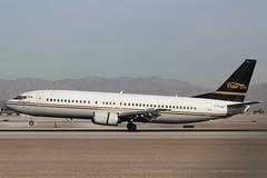 Flair Air (So Cal Metro) Tags: flair flairair boeing 737 734 737400 cflej las lasvegas mccarranairport mccarran vegas airliner airline aircraft aviation airport jet