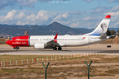 Norwegian Air Sweden B737-8MAX SE-RTB (José M. Deza) Tags: 20190201 b7378max bcn boeing elprat lebl norwegain planespotting sertb spotter aircraft