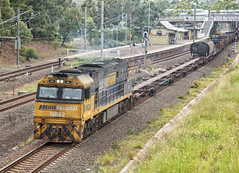 NR62 - 3NY3 - Villawood (SJB Rail) Tags: pn pacific national nr class trains railways railroads yn3 3yn3 villawood steel train australia