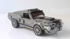 Ford Mustang Shelby GT500 (hachiroku24) Tags: lego ford mustang shelby gt500 eleanor muscle car moc instructions
