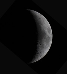 20190210 Moon (Roger Hutchinson) Tags: moon london celestronedgehd11 canon canoneos6d space astronomy astrophotography