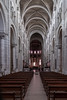 Fontgombault 2018 5021 (Ruth Flickr) Tags: brenne europe fontgombault france abbey holiday interior nave pews summer