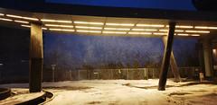 20190213_070755 (kasio69) Tags: road wind park entrance lobby storm snow toronto humber bay mimico