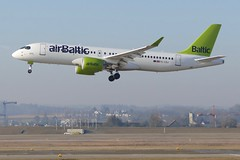 Airbus A220-300 Air Baltic YL-CSJ approaching ZRH Zurich Airport Switzerland 2019 (roli_b) Tags: airbus a220300 a220 300 air baltic ylcsj approaching approach landing landung zrh zurich airport switzerland 2019 zürich flughafen schweiz aeroport suisse aeropuerto suiza sivzzera aircraft airplane jet new flugzeug flieger avion aereo aviacao