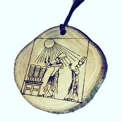 Egyptian Gods God Pharaoh Hieroglyph Symbol Egyptian Symbol Egypt Necklace Wooden Pendant Charm #gods #egyptian Retrosheep.com (RetrosheepCharms) Tags: retrosheep handmade gifts deals giftideas