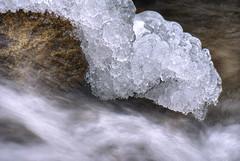 ice ... (Roberto Defilippi) Tags: 2019 rodeos robertodefilippi tripod treppiede macro ice ghiaccio winter inverno acqua water waterfall longexposition tmpanel 62019