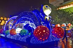 Chingay @ Chinatown (chooyutshing) Tags: decoratedfloat lightedup display posb chingaychinatown newbridgeroad chinesenewyear2019festival celebrations attractions peoplesassociation singapore