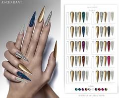 LEVEL | February 28th (Kah Melody | ASCENDANT) Tags: ascendant bento nails slink belleza maitreya artnails jewel level
