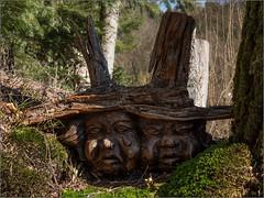 Waldgeister / forest spirit (ludwigrudolf232) Tags: wald geister holz schnitzerei skulpturen