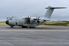 Atlas C1,  ZM411 (WestwardPM) Tags: airbus a400m atlasc1 zm411 royalairforce raf cornwallairportnewquay newquayairport
