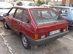 1989 Lada Samara 1300S (VAZ-2109) (FromKG) Tags: lada samara vaz 2109 1300s red car kragujevac serbia 2019