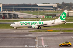 "Transavia PH-HZJ B737-800 (IMG_2432) (Cameron Burns) Tags: transavia hv phhzj boeing boeing737 boeing737800 boeing738 b737 b737800 b738 tfs tenerife south tenerifesouth spain canaryislands canarias islas canaries canary islands spanish africa green white netherlands dutch holland amsterdam schiphol airport amsterdamschipholairport ""amsterdam schiphol"" ams eham airfield aviation aerospace airliner aeroplane aircraft airplane plane canoneos80d canoneos eos80d canon80d canon eos 80d haarlemmermeer ""luchthaven luchthaven europe action"