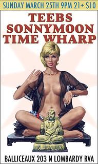 Teebs, Sonnymoon and Time Wharp