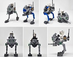 AT-RT (Inthert) Tags: atrt star wars lego moc walker all terrain recon transport instructions prequel