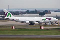 Wamos Air Boeing 747-419 EC-MDS BHX 05/01/19 (bhx_flights) Tags: wamos wamosair boeing boeing747 jumbojet jumbo bhx egbb birmingham birminghamairport airport