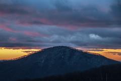 On Top of the Mountain (Beangrau12) Tags: mountain clouds sunrise trees colorfullandscape nikon3200 tamron16300