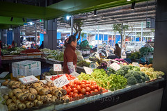 Marketplace21 (ArdieBeaPhotography) Tags: local market vendors consumers shopping customers browsing goods produce stalls vegetables broccoli aubergine eggplant tomato lotusroot potato scales street tamronspaf2875mmf28xrdildasphericalif