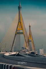 Bhumibol Bridge (nat_panviroj) Tags: