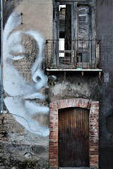 The house of the spirits... (modestino68) Tags: casa house arte art porta door finestra window faccia face hanszimmer