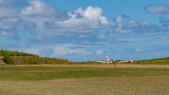 End of the trip (LionelRobicPhotographie) Tags: avion airport aéroport mayotte indianocean crash airplane océanindien